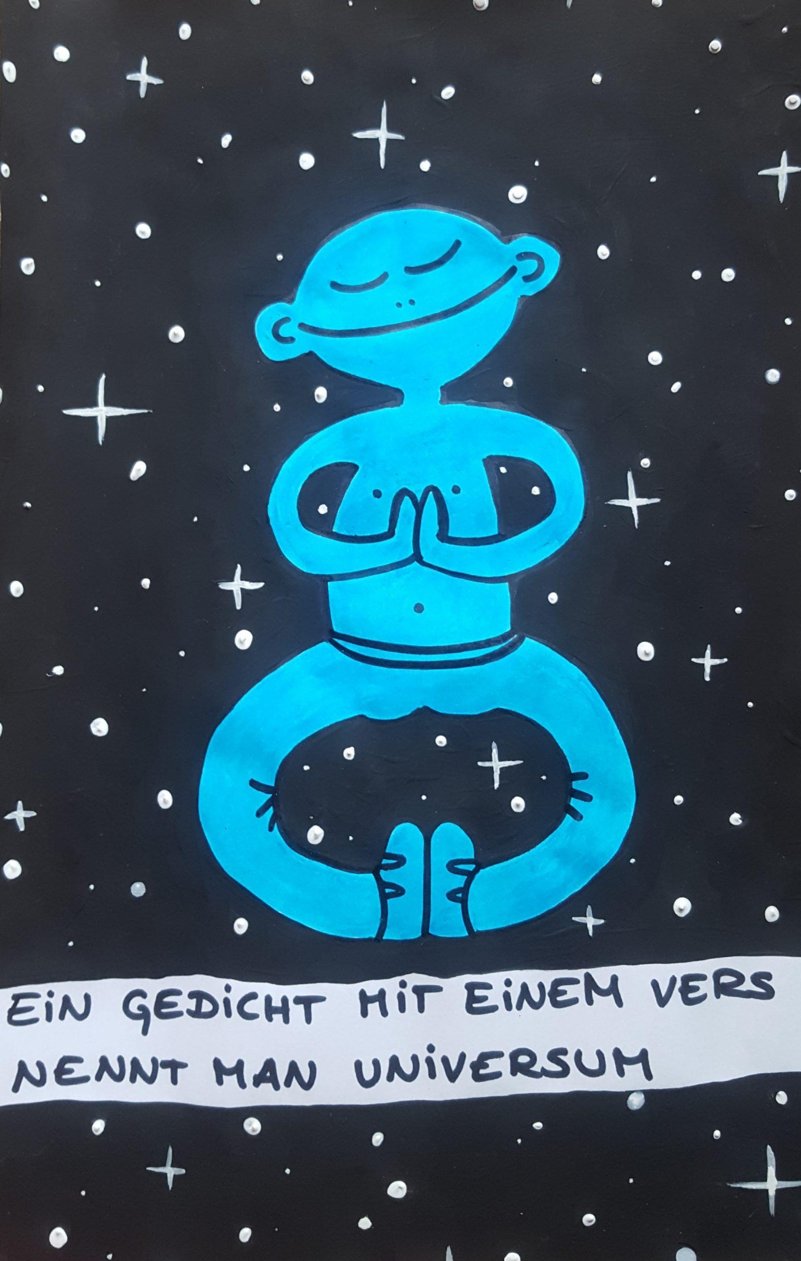 Danke, Universum: Illustration